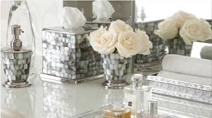 Decorative Accessories For Bathrooms Shop Luxury Decorative Bath Accessories Dispensers And Tumblers