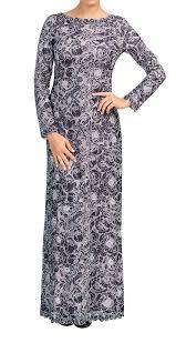 Tadashi Size Chart Tadashi Shoji Long Sleeve Floral Lace Gown Formal Wedding