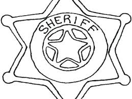 Police Badge Coloring Page Awesome Awesome Police Officer Badge