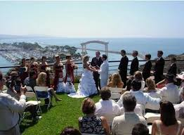 Dana Point Chart House Wedding Lock And Key Wedding