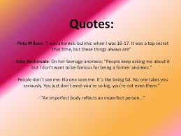 Anorexia Quotes Gorgeous Anorexia And Obesity
