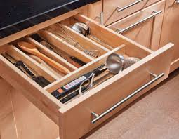Kitchen Drawer Storage Wooden Kitchen Drawer Organizers Home Decor