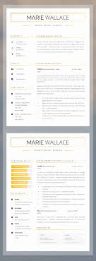 Free Professional Html And Css Cv Resume Templates Beautiful