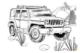 Small Picture Jeep Rescue coloring page Free Printable Coloring Pages
