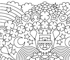 St Patricks Day Coloring St Patricks Day Coloring Page A Digital Co