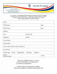 Conference Forms Template Conference Form Template Parent
