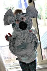 koala and joey craft for kids danya banya diy paper plate koala mask