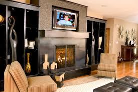 interior modern fireplace and tv design ideas