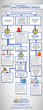 Infographic Career Flow Chart Columbia Southern University