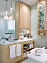 example of a trendy bathroom design in toronto with a vessel sink