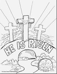 Easter Coloring Pages Religious Inspirationa Free Printable