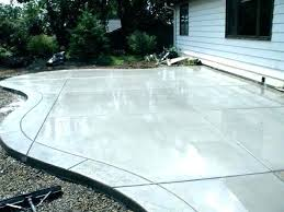 cement patio ideas decorative for backyard concrete with stamped border cement patio designs t80