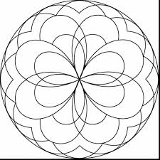 Astonishing Easy Mandala Coloring Pages For Kids With Free Printable