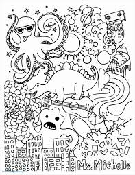 Printable Hello Kitty Mermaid Coloring Pages Kids Princess For