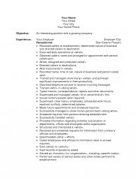 Sample Resume For Receptionist Objective For Resume Receptionist Sample Position With Experience 19