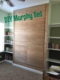 diy twin murphy bed. DIY Wall Bed With A Rustic Look (via Junkintheirtrunk.blogspot.ru) Diy Twin Murphy