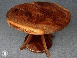 custom made slab round tables