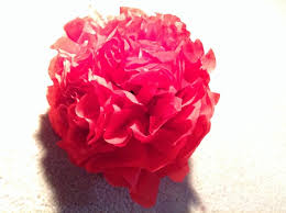 Tissue Paper Flower How To How To Make Tissue Paper Flowers Snapguide