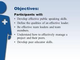Define Team Leader Module Eight Leadership Skills Objectives Participants