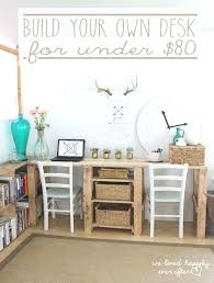 build your own office. Design Your Own Office Best Double Desk Ideas On White In Home For Two And Supplies Build