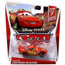 disney cars lightning mcqueen toys. Amazoncom DisneyPixar Cars 95 Lightning McQueens Cactus McQueen DieCast Vehicle Toys Games To Disney Mcqueen