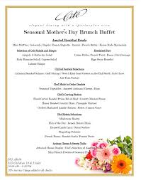 Mothers Day Brunch Buffet Cité Downtown Chicago Restaurants