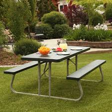 round concrete picnic table hayneedle