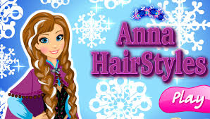 play anna frozen hairstyles game