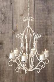 shabby chic chandelier votive holder cream chandeliers uk