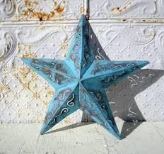 Metal Star Wall Decor Small Rustic Metal Plasma 9 Star Decorative Wall Decor