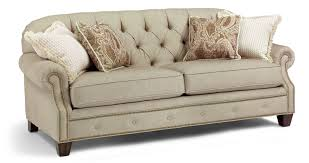 Tufted Living Room Set Champion Transitional Button Tufted Sofa With Rolled Arms And