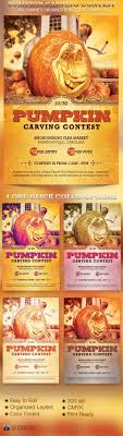 Pumpkin Carving Contest Flyers Pumpkin Carving Contest Charity Flyer Template Is Geared Especially