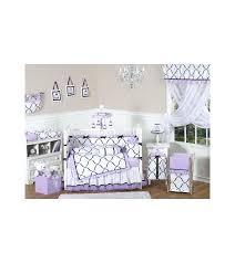 sweet jojo bedding sets sweet designs princess black white purple 9 piece crib bedding set sweet