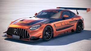 The 2020 model year brings improved dynamics, new tech, and a bit of fresh styling to the gt lineup, which received a facelift and gained the roadster body style and gt c variant in 2016. 3d Mercedes Amg Gt3 2020 Cgtrader