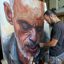breathtaking large paintings by erik maniscalco