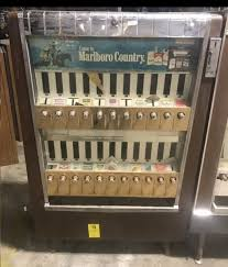 Old School Cigarette Vending Machine Best Vending Machines Prop Rentals NYC Arcade Specialties Game Rentals