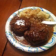 It is classic comfort food at it's finest! Chef John S Salisbury Steak Allrecipes