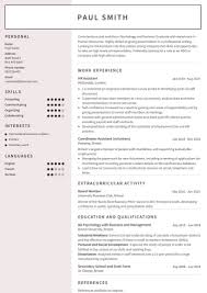 Cv Format It Professional Cv Examples Use Our Templates To Professionally Format Your Cv