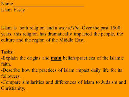 islam objectives describe the basics of islam ppt video online 5 islam essay