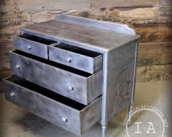 vintage metal dresser hospital furniture 5. Vintage Industrial Simmons Depression Era Steel Dresser Metal Hospital Furniture 5 T