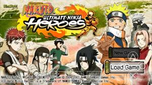 psp android naruto ultimate ninja heroes ppsspp android 1
