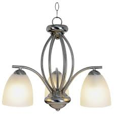 national brand alternative 617627 contemporary chandelier brushed nickel 20 5 8 in
