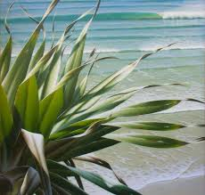 learn how to paint a beachscape like this one