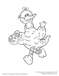 Small Picture Big Bird Coloring Page Cute With Image Of Big Bird 4 6673