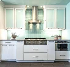 glass backsplash for kitchens blue glass kitchen kitchen white and blue kitchen decorating using light blue
