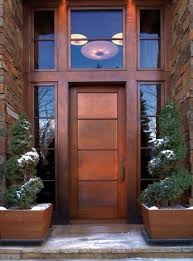 Image Solid Wood Home Art Mania 80 Alluring Front Door Designs To Refine Your Home