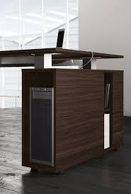 office desk with shelves. Sectional Rectangular Office Desk With Shelves 5TH ELEMENT | By Las Mobili S