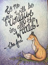best true images thoughts words and drawings the little prince fox quote geometric fox