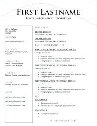 Resume Templates Free Download Fascinating Resume Templates Download Free Combined With Chronological Resume