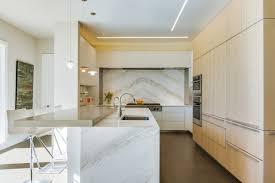 cremo calacatta marble kitchen